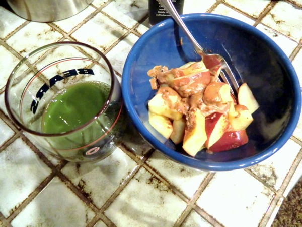 Apples AB green juice