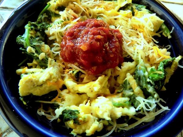 Omelet bowl