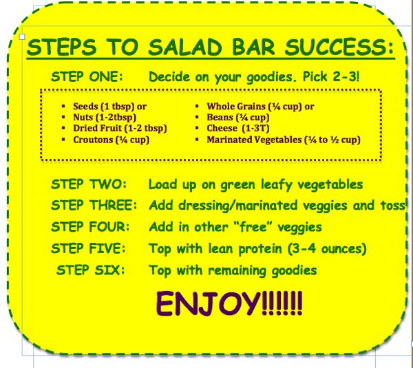 Saladbartips