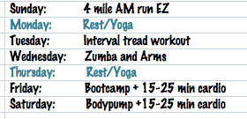 Workout 7 28 8 3
