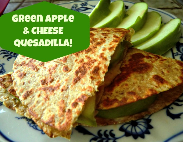 Apple quesadilla  edited