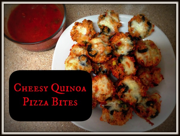 Pizza quinoa bites  labelframed
