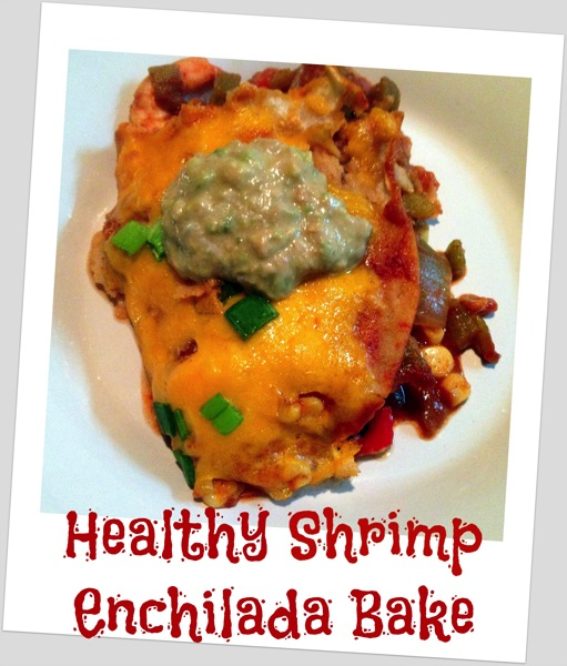 Shrimp Enchilada Bake piece