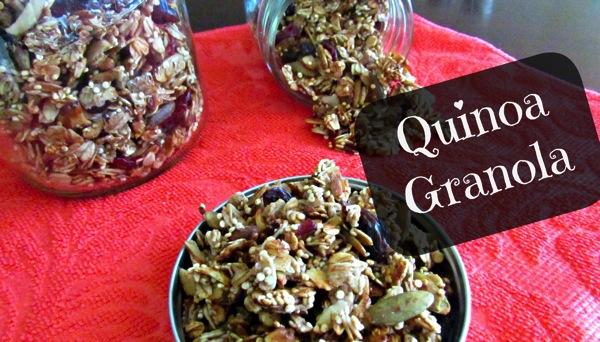 Quinoa Granola1