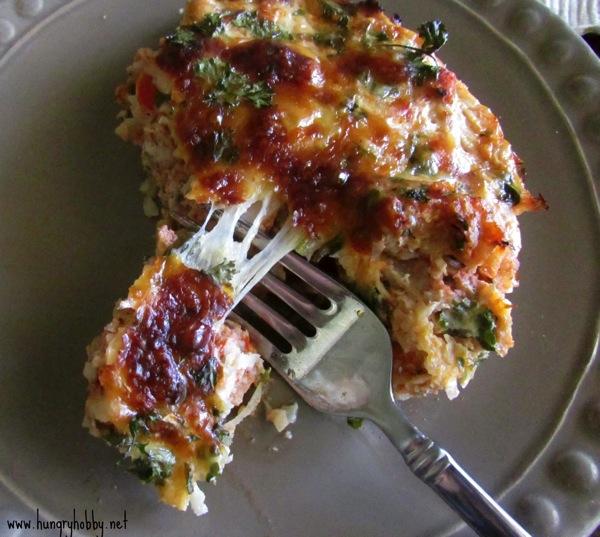 Cauliflower pizza quiches slice1