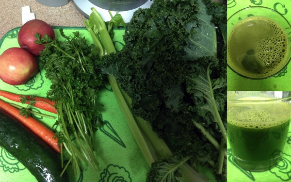 Green juice WED